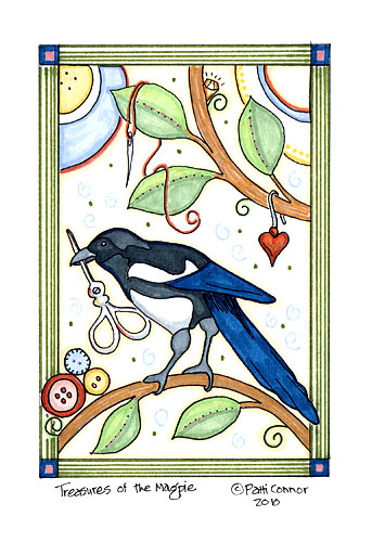 Magpie©Patti Connor