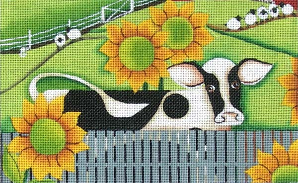Holstein & Sunflowers